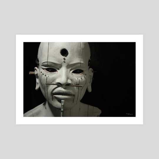"""Agharti 2"" Guardians Collection Sculpture by Pamela Ranya"