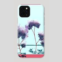 trees - Phone Case by net trip