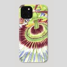 Passion Flower - Phone Case by Aurelia Chaintreuil