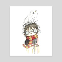 Harry Potter - Canvas by Maufield