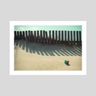 Rubik shading in the beach - Art Print by josemanuelerre
