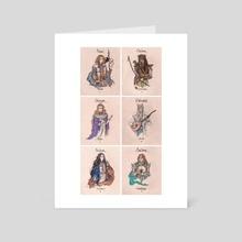 Elves - Art Card by Darina Nossova