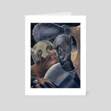 An Ancient War - Art Card by Stephanie Gobby