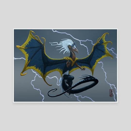 Storm Dragon by Lynton Levengood