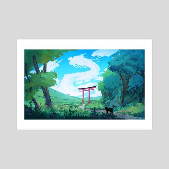 Oriental Clouds by Matthew Tran