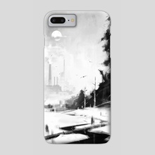 Black river - Phone Case by Alexander Zienko
