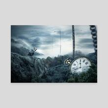 LOST TIME - Canvas by tiljo joseph