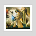 Music of Autumn - Art Print by Dmitriy Gorin