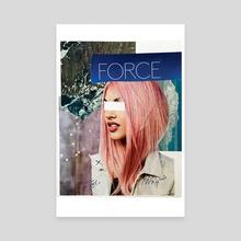 Force - Canvas by Rachel Wyrick