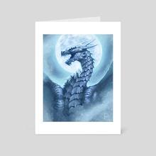 Dragon #33, Boreas the Piercing - Art Card by Alex Stone