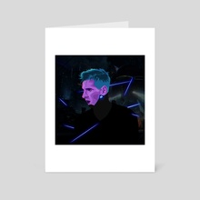 Lionel Messi Cyberpunk - Art Card by Kazi Sakib