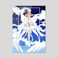 Sakura Clear Card - Acrylic by aeon