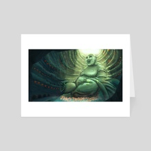 Monk's Cenote - Art Card by Claudie C.Bergeron