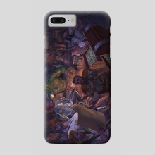 A Hero's Gathering - Phone Case by Tamires Para