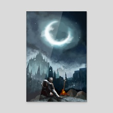 Dark Souls Irithyll of the Boreal Valley - Acrylic by Joon Kim
