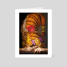 """""""The Burden Of Excess"""" - Art Card by Lilia Mazurkevich"""