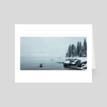 Tahoe Peace - Photography Fine Art Print for Sale - Art Card by Buuck Photography