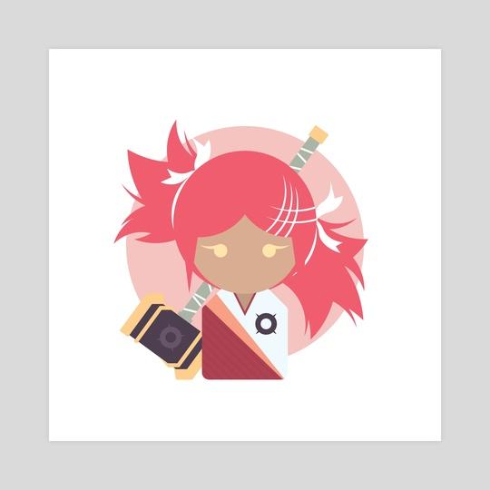 Agnes (OC) by Shiny Pudding