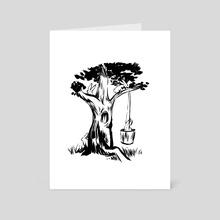 Natural Habitat - Art Card by Will Quinn