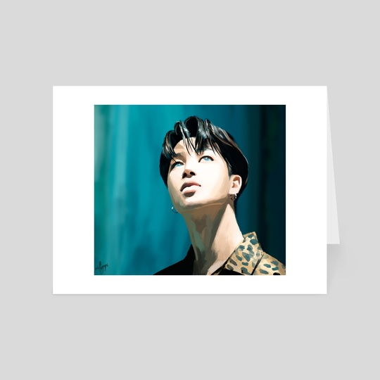 BTS Jimin by milkyopi