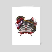Catkil - Art Card by Andreas Kurniawan