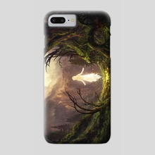 The Sleeping Green - The Awakenig - Phone Case by Julian Bauer