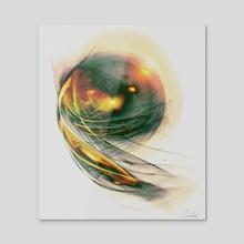 Evening Seed - Acrylic by Chris Fierro