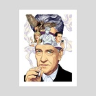 David Lynch - Art Print by Matt Chu