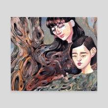 Shinrinyoku - Canvas by alejandra caballero