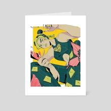 Jolyne Cujoh - Art Card by Loren Davis