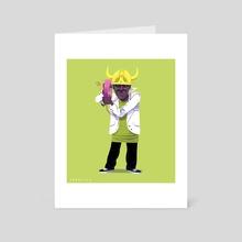 Flava Flav - Art Card by David Saracino