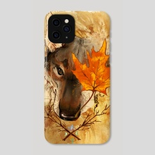 Autumnal Spirit - Phone Case by Simhanada Gaither