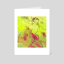 Huevember 30 - Art Card by Samuel Berry