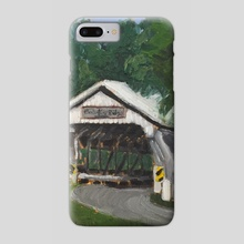Brubaker Bridge - Phone Case by jeremiah jolliff