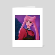 Black Lady - Art Card by Eukithra