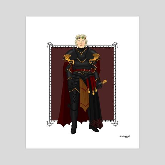 Queen Rhaenyra (armour) by chillyravenart