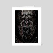 Demon - Art Card by Cédric Godin Olicard