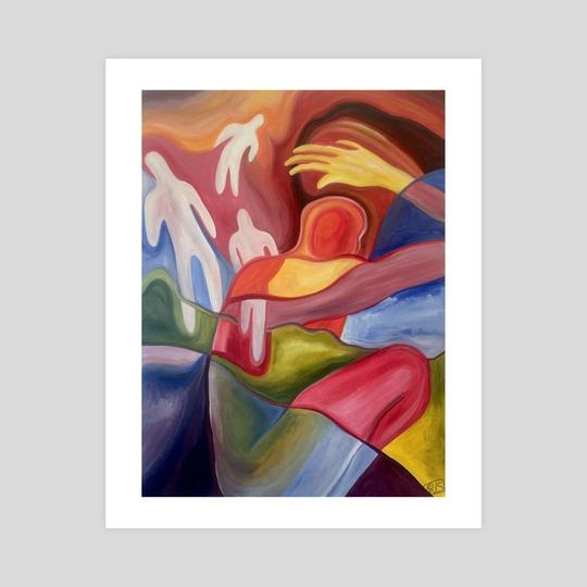 Ascension of the Higher Self by Kiara  Florez