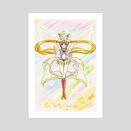 Super Sailor Moon Eternal Crystal by Aurora Borealis