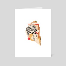 anita modern - Art Card by allison anne