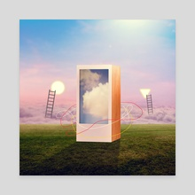 Introvert - Canvas by VANLAWRENC