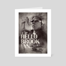 Hello Brooklyn - Art Card by Patrick Monkel