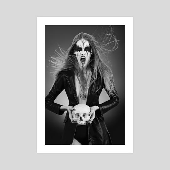Black Metal Barbie II by Antonella Arismendi