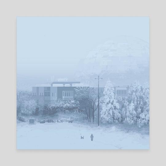 foggy radar by 6VCR