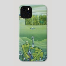 Ascension - Phone Case by Carole Newman