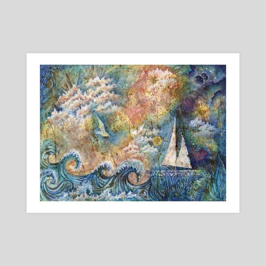 Dream at Sea by Kristen Dahms