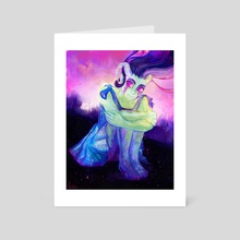 Stargazer - Art Card by Arsha