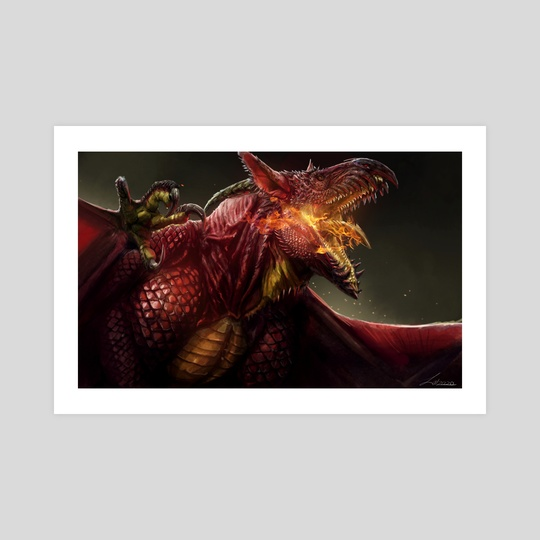 Phoenix Dragon by Lindsey Wakefield
