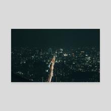 Tokyo after dark - Canvas by Angelo González