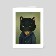 Mr. Fancy - Art Card by Vanessa Stephens